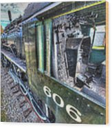 Steam Locomotive Norfolk And Western  No. 606 Wood Print