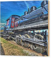 Steam Locomotive Virginian Class Sa No 4 Wood Print