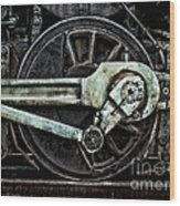 Steam Power Wood Print by Olivier Le Queinec