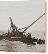 Steam Schooner Celia Steam SchoonerBuilt In 1884Lost At Pt Joe Wood Print