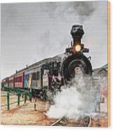 Steam Train 45 Wood Print