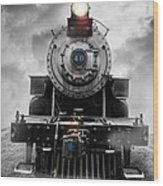 Steam Train Dream Wood Print