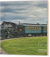 Steam Train Tr3627-13 Wood Print