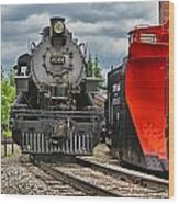 Steam Train Tr3637-13 Wood Print