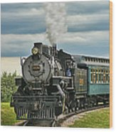 Steam Trains Tr3629-13 Wood Print
