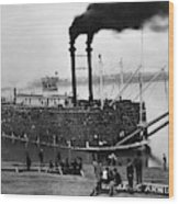 Steamboat, C1900 Wood Print