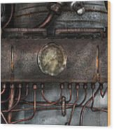 Steampunk - Connections   Wood Print