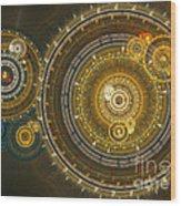 Steampunk Dream Wood Print