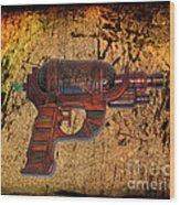 Steampunk - Gun - Ray Gun Wood Print