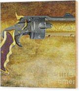 Steampunk - Gun - The Hand Cannon Wood Print by Paul Ward