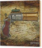 Steampunk - Gun - The Ladies Gun Wood Print