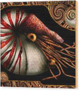 Steampunk - Nautilus - Coming Out Of Your Shell Wood Print