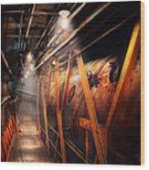 Steampunk - Plumbing - The Hallway Wood Print