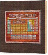 Steampunk retro periodic table wood print by mark e tisdale steampunk retro periodic table wood print urtaz Choice Image