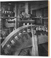 Steampunk - Runs Like Clockwork Wood Print