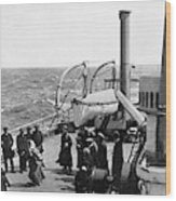 Steamship 1914 Wood Print