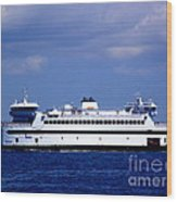 Steamship Authority Ferry Wood Print