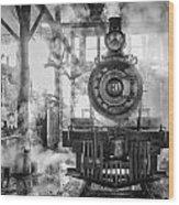 Steamy Wood Print