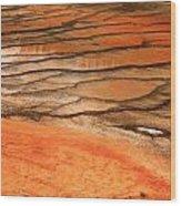 Steamy Stones Wood Print