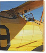 Stearman Boeing Model 75 Wood Print