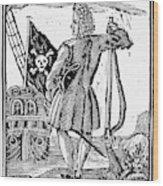 Stede Bonnet (c1688-1718) Wood Print