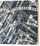 Steel Arches Wood Print