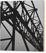 Steel Lift Wood Print
