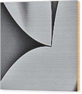 Steel One Wood Print