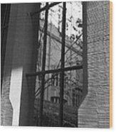 Steel Window Wood Print