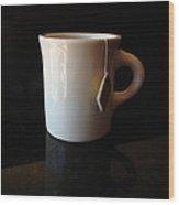 Steeping Mug Wood Print