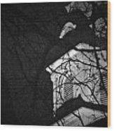 Steeple Wood Print