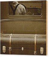 Steerage Wood Print