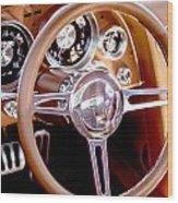 Steering History Wood Print