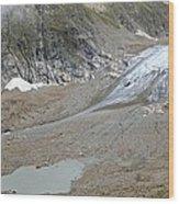 Stein Glacier, Switzerland Wood Print