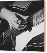 Stella Burns - Guitar Close-up Wood Print