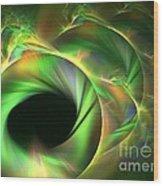 Stellar-wind Bubble Wood Print