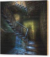 Step Into The Light Wood Print