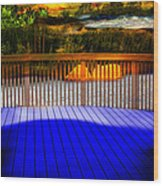 Step Out Wood Print