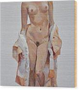 Stephanie II Wood Print