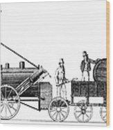 Stephensons Rocket 1829 Wood Print by Science Source