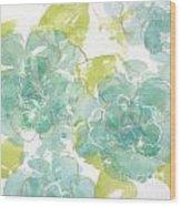 Sterling Camellia I Wood Print