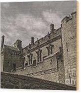 Sterling Castle Scotland Sterling Closed Grey Wood Print