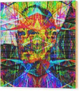 Steve Jobs Ghost In The Machine 20130618 Square Wood Print
