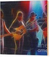 Steve Miller Band Fractal-1 Wood Print