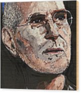 Steven Paul Jobs Wood Print