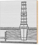 Stevens: Sectional Boiler Wood Print