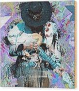Stevie Ray Vaughan #4 Wood Print