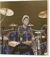 Stewart Copeland Of The Police Wood Print
