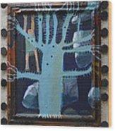 Sticker Tree - Framed Wood Print