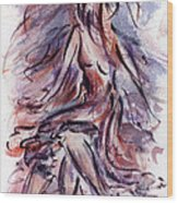 Still Dancing Wood Print